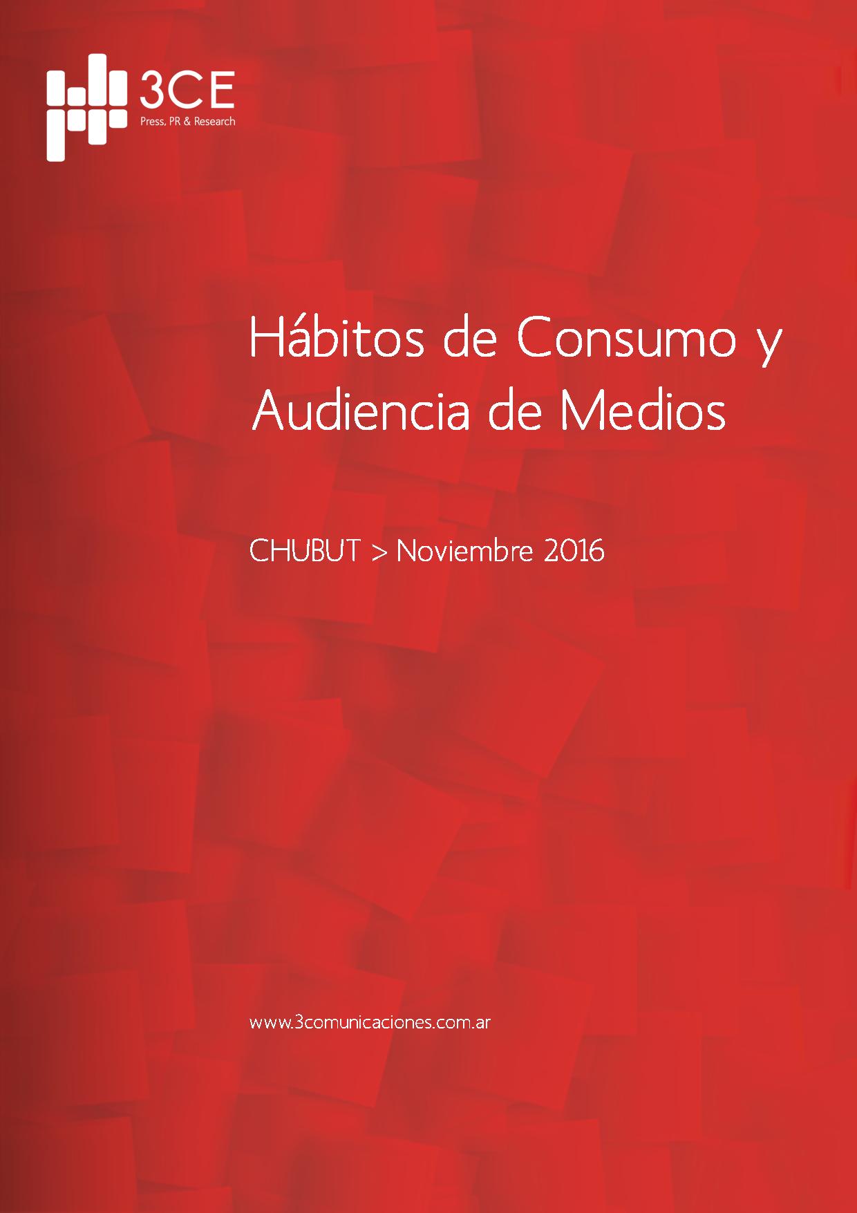 Consumo de medios en Chubut